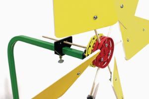 TeacherGeek Direct Drive Wind Turbine