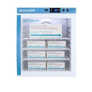 Pharma-vaccine series refrigerator with glass doors, 1 cu.ft.