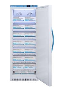 Pharma-vaccine series refrigerator with solid doors, 12 cu.ft.