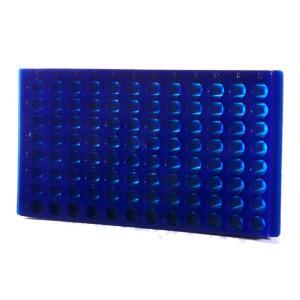 96-Place Reversible Microcentrifuge Tube Racks, Bio Plas