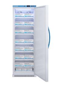 Pharma-vaccine series refrigerator with solid doors, 15 cu.ft.