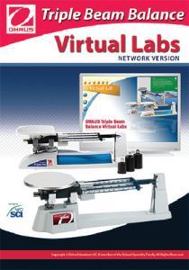 Ohaus® Triple Beam Virtual Lab Bundle