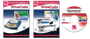 Ohaus® Harvard Junior Balances with Virtual Lab