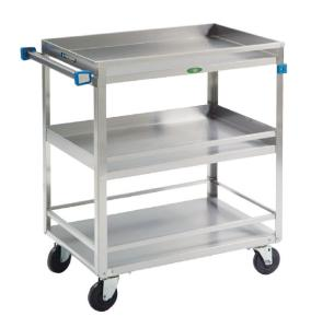 Stainless Steel Guard Rail Utility Cart