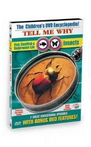 Tell Me Why: Insects And Fish, Shellfish, Underwater Life Video