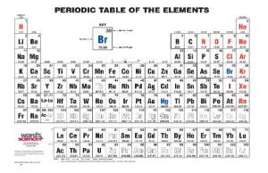 Ward's® Basic Periodic Tables
