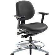 Chair With Medium Backrest, Armrest