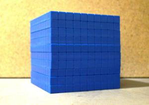 Flat Base Ten Blue Standard