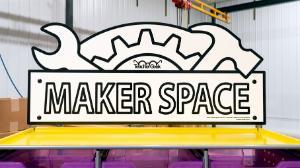 Maker Space Sign