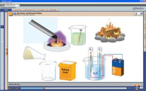 NewPath Chemical Reactions Interactive Whiteboard Digital Download