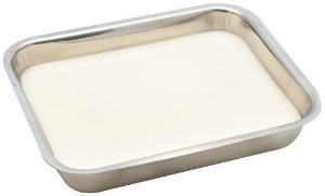 Dissection pan, wax lined