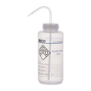 Wash bottle, distilled water, 1000 ml