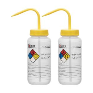 Wash bottle, isopropanol, 500 ml