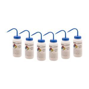 Wash bottle, sodium hypochlorite, 500 ml