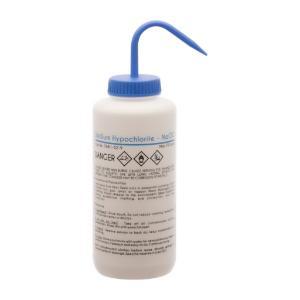 Wash bottle, sodium hypochlorite, 1000 ml