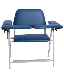 Upholstered Blood Drawing Chairs, Extra Width, Med-Care Manufacturing