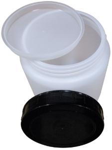 Jar with Cap, HDPE